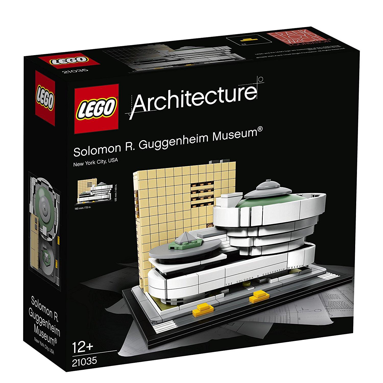 [Thalia] LEGO®  Architecture 21035 - Solomon R. Guggenheim Museum mit Gutschein nur 50,99€ inkl. Versand