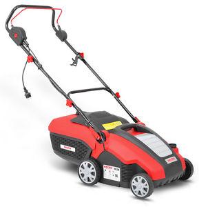 Der Rasen muss atmen: Hecht 1538 Elektro Vertikutierer für 89,10€ - 1500 W, inkl. 2 Walzen, 4-fach höhenverstellbar -12 bis +5 mm, 34 cm Arbeitsbreite, 50 l Fangkorb