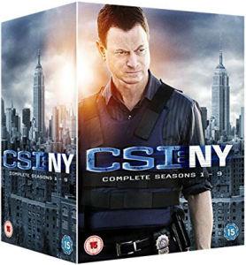 CSI:NY Boxset komplett Staffeln 1-9 auf DVD mit englischer Tonspur[Zavvi]