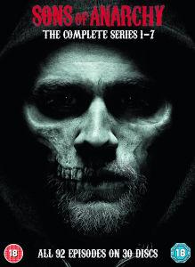 Sons of Anarchy Complete Box mit englischer Tonspur für 36,29€[DVD]oder 45,99€[Blu-Ray][Zavvi]