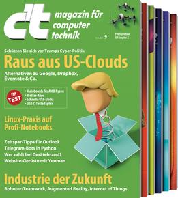 Desinfect 2017 - 5 Ausgaben c't für 17€ inkl. 15€ Bestchoice Gutschein Digital oder Print inkl. Software Lizenzen