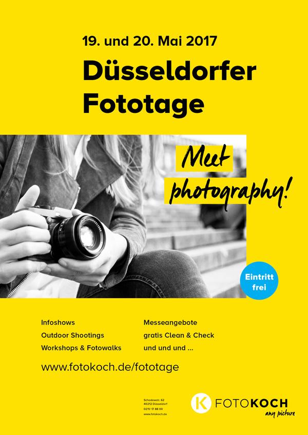 Düsseldorfer Fototage 19. und 20. Mai 2017 - Foto Koch