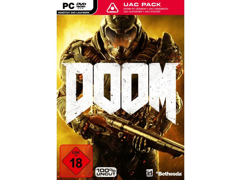 Doom + UAC Pack (PC Retail) für 9,99€ (Saturn oder Media Markt)