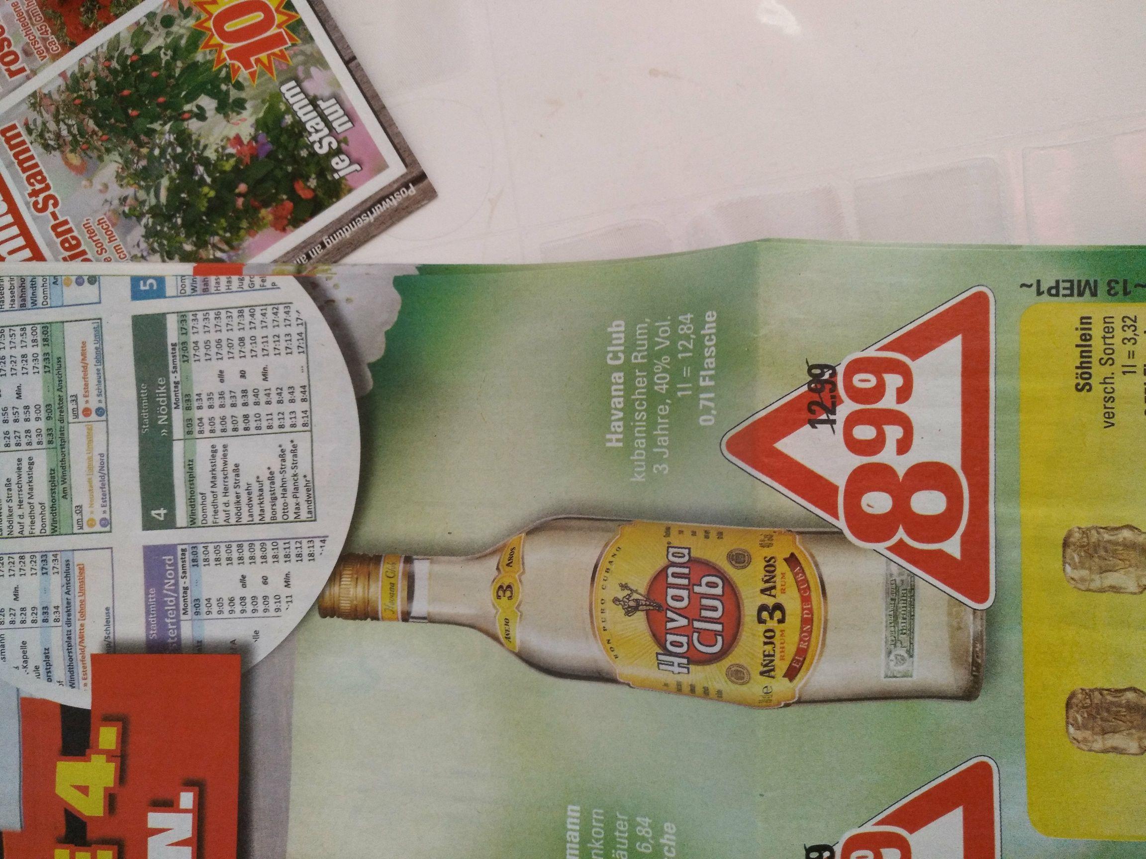 Havana Club Rum Lokal Marktkauf / Edeka Hannover Minden