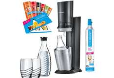 sodastream crystal 2 0 superpack neues modell. Black Bedroom Furniture Sets. Home Design Ideas