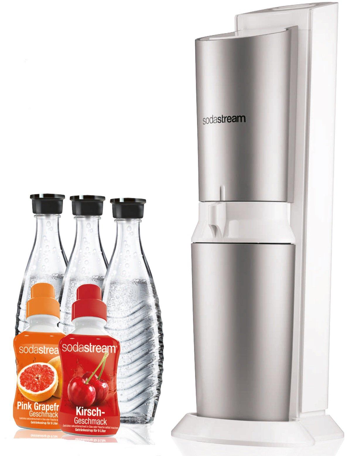 SodaStream Crystal Design Super-Spar-Pack Wassersprudler für 79,99€ inkl. Versand (statt 105€)
