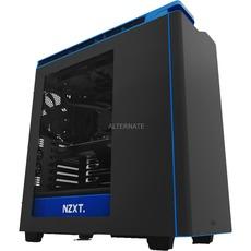 NZXT H440 Gehäuse (schwarz/blau und schwarz/orange) für 104,90€  [Alternate]
