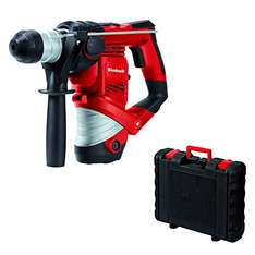 Amazon Tagesangebot Einhell Bohrhammer TC-RH 900 (900 W, 3 J, Bohrleistung in Beton 26 mm, SDS-Plus-Aufnahme, Metall-Tiefenanschlag, Koffer)