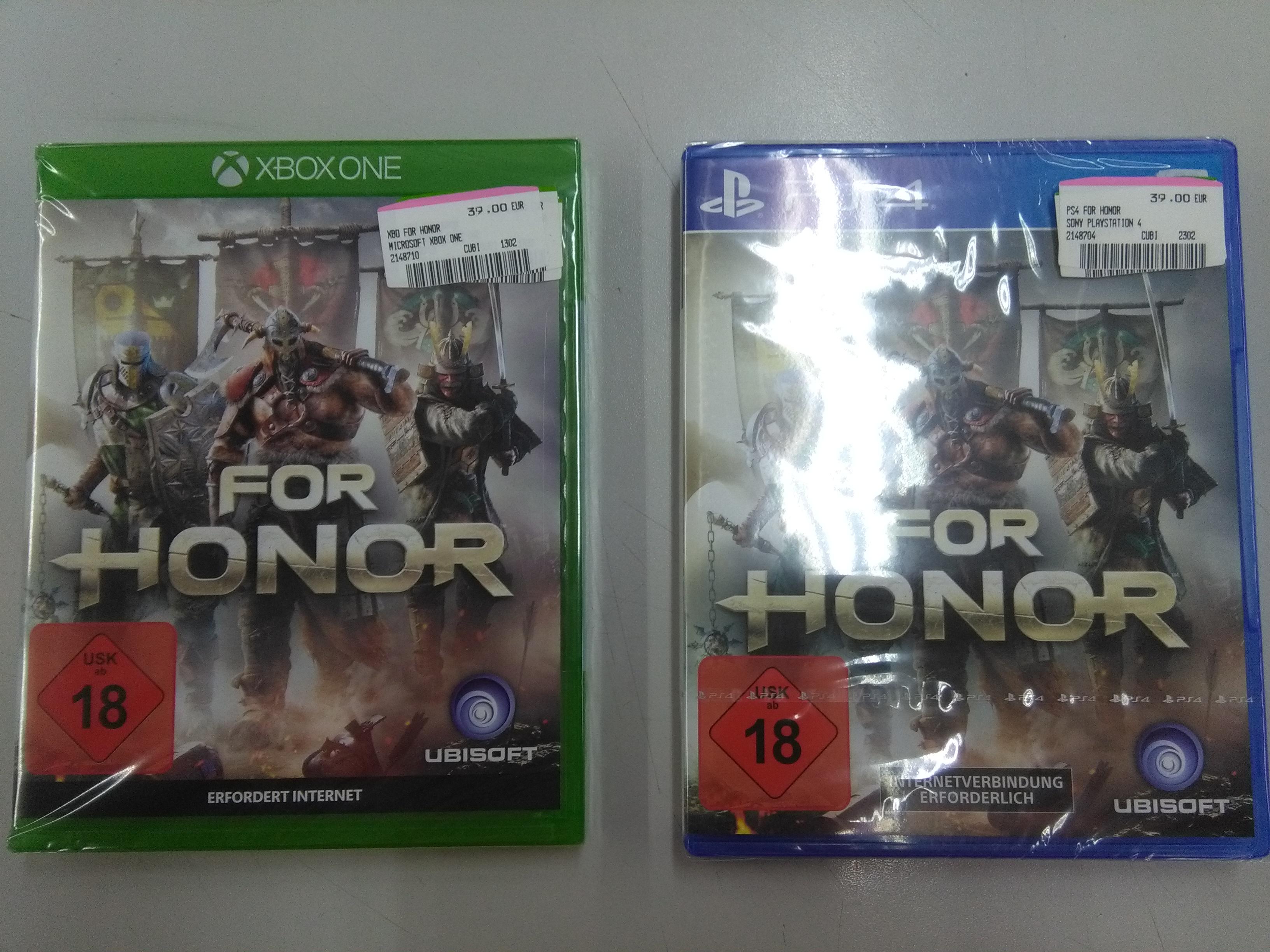 For Honor (PS4/Xbox One) für 39 Euro Media Markt Bochum Hofstede