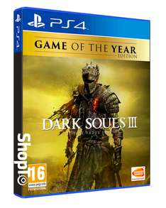 Dark Souls III: The Fire Fades Edition - Game of the Year Edition (PS4/Xbox One) für 42,25€ inkl. Versand (Shopto)