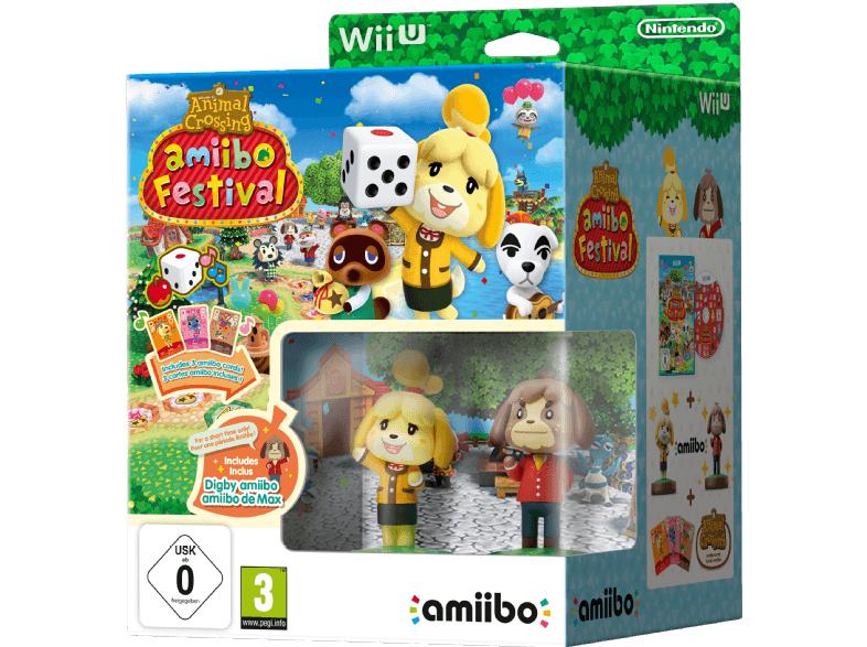 [Saturn] Animal Crossing: amiibo Festival inkl. Figuren und Karten - Nintendo Wii U