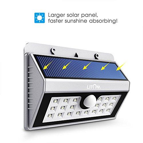 15% Rabatt auf Solar-Wandleuchte für den Außenbereich (Garten/Garage usw.)