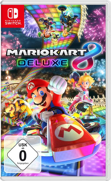 Mario Kart 8 Deluxe für Nintendo Switch bei Voelkner mit Gutscheincode bis 26.04.