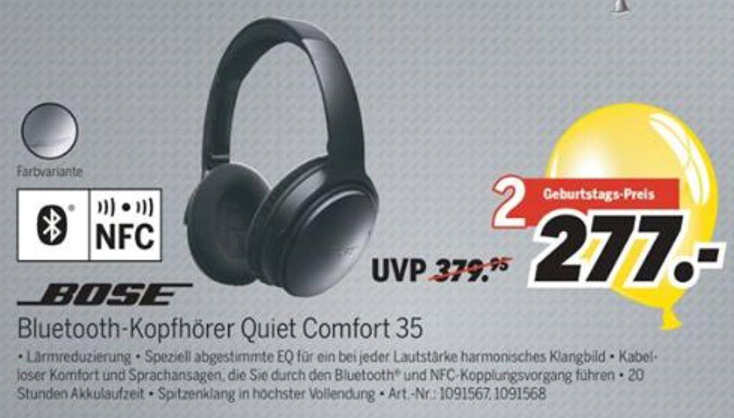 [Lokal] Bose QC35 Wireless schwarz/grau - Medimax Bad Camberg (wahrscheinlich kein Versand)