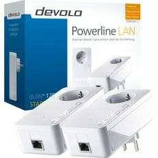 [ALTERNATE] Devolo dLAN 1200+ Starter Kit (2 Adapter), Powerline