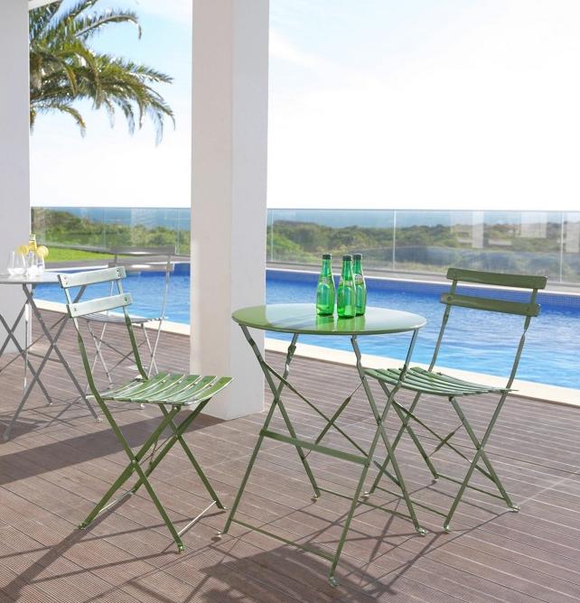 Günstiger Urlaub auf Balkonien: Sammeldeal mit Deko und Möbeln für den Balkon, z.B. Gartenset für 24,84€ inkl. Versand