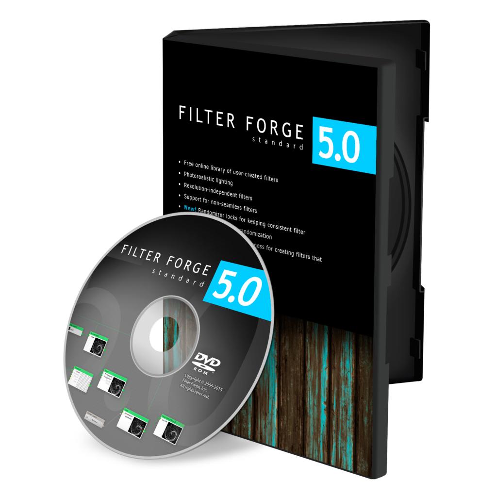 [Plug-in-Sammlung] Filter Forge 5 kostenlos (kompatibel mit Photoshop)