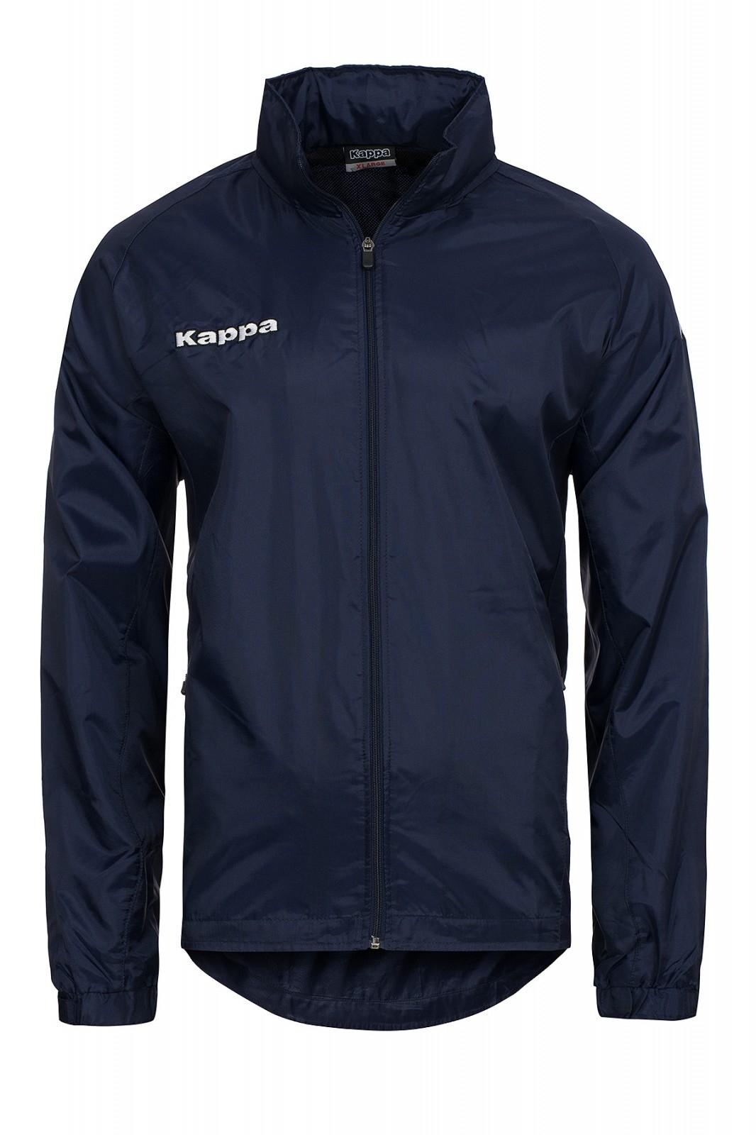 Kappa Favara Windbreaker Jacket Kinder Trainingsjacke Blau Gr. 116