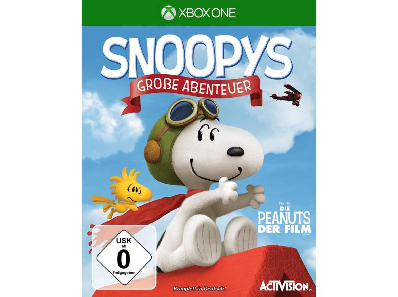 Snoopys Große Abenteuer (Xbox One) für 9,99€ (Saturn)