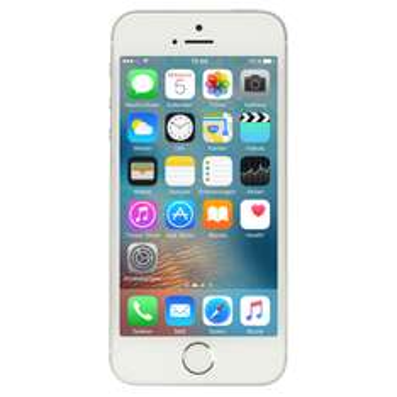 "Apple iPhone SE 32GB Silber [10,16cm (4"") Retina Display, iOS 10, A9 CPU, 12MP Kamera, Touch ID]"