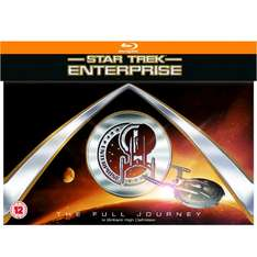 Star Trek: Enterprise: The Full Journey [Blu-ray] für 36,29€ (Zavvi)