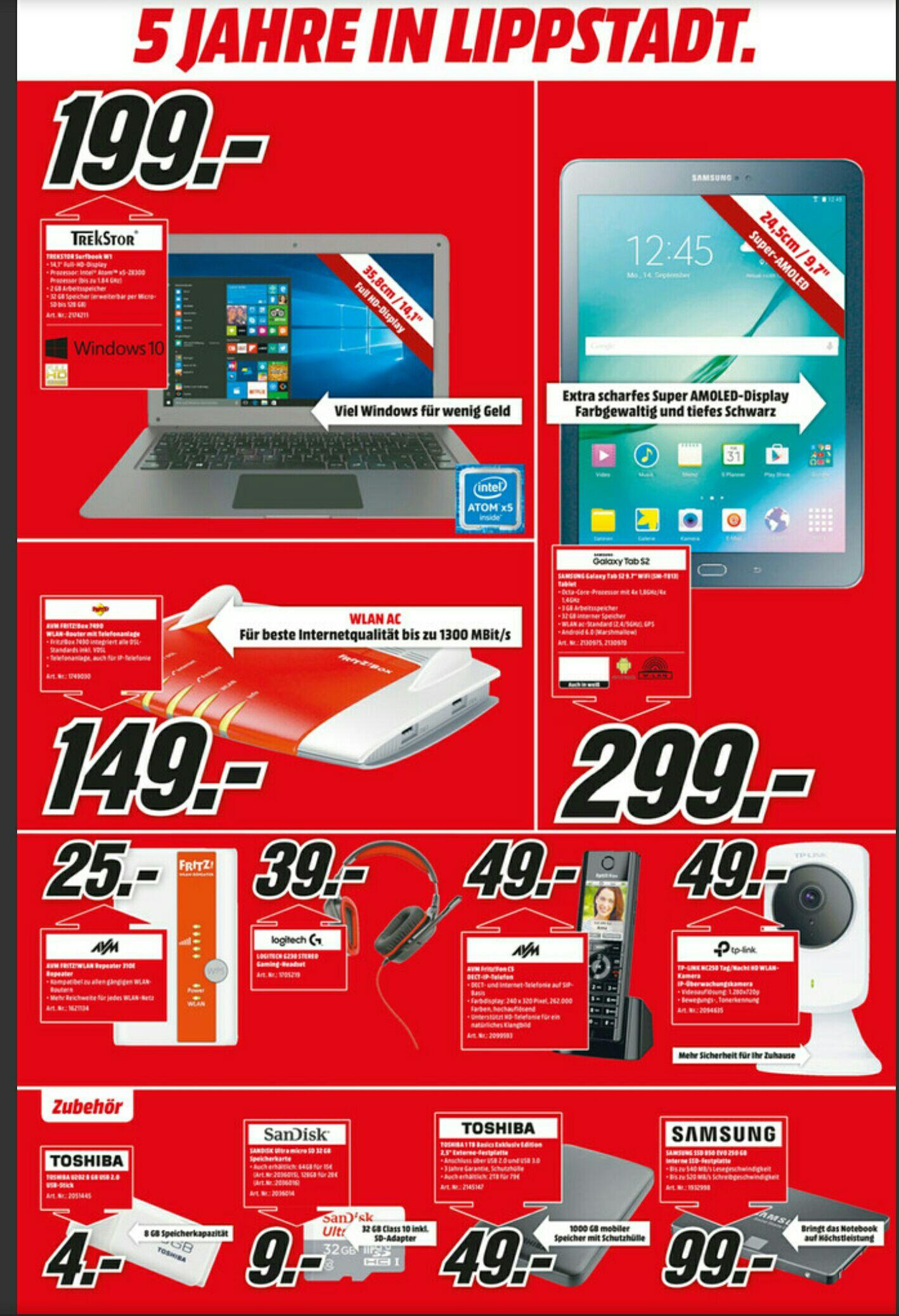 [Lokal Lippstadt] Galaxy Tab S2 Wifi
