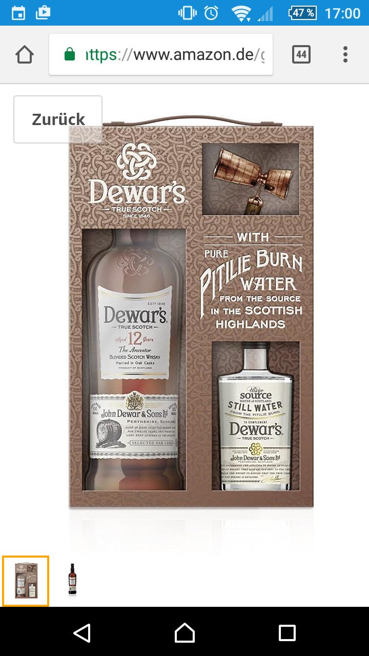 Amazon | Dewar's True Scotch 12