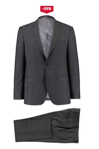 Tommy Hilfiger Butch & Rhames Anzug in Hell- und Dunkelgrau in (fast) allen Größen für 195,90€ @Engelhorn