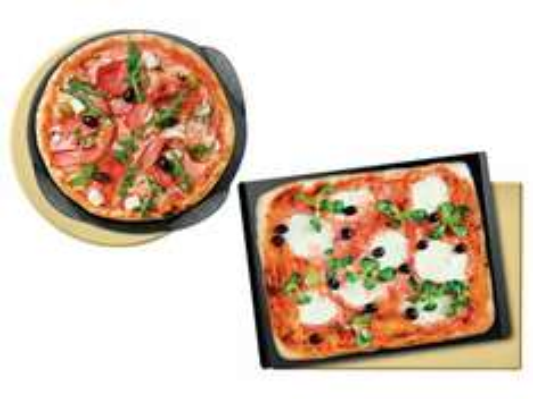 [Lidl online] Pizzastein rund oder eckig