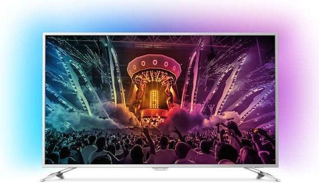 Philips 65PUS6521 (65'' UHD Direct-lit Dimming HDR, 1800Hz [100Hz nativ], 3seitiges Ambilight, Triple Tuner, 4x HDMI + Scart, 3x USB, LAN + WLAN mit Smart TV, CI+, VESA, EEK A) für 1239,20€ inkl. Versand [Saturn]