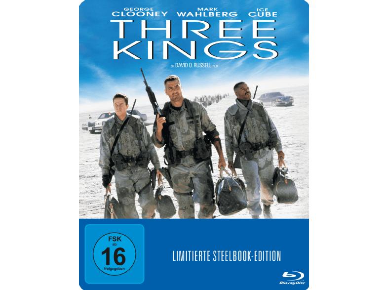 Three Kings (Exklusive Steelbook Edition) (Blu-ray) für 7,99€ versandkostenfrei (Media Markt)
