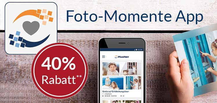 PixelNet: 40% Rabatt auf Fotobücher und Fotoabzüge