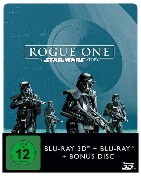 Rogue One (3D Blu-ray + 2D Blu-ray + Bonus Disc) Steelbook für 24,99€ Amazon Prime