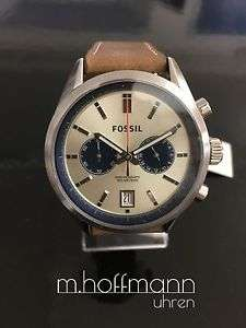 Fossil Herrenchronograph (Fossil Del Ray) (Beige) für 95€ inkl. Versand