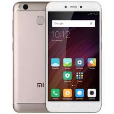 Xiaomi Redmi 4x Global mit Band 20 Gold bei Gearbest