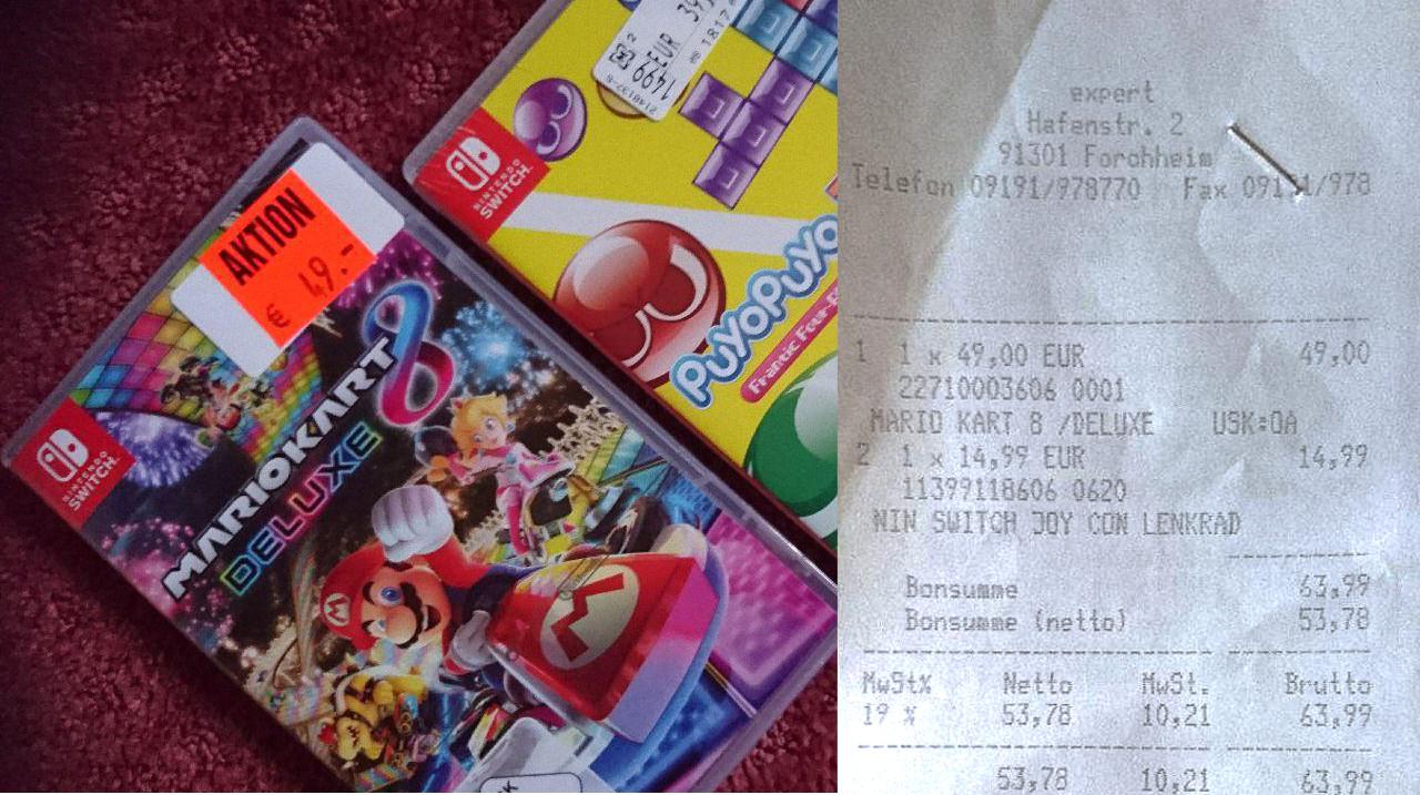 [LOKAL] [EXPERT Forchheim] Mario Kart 8 Deluxe (Switch)