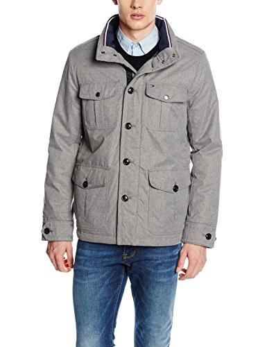 Tommy Hilfiger Herren Mantel C-Wool Alan Af grau ab 49,68€