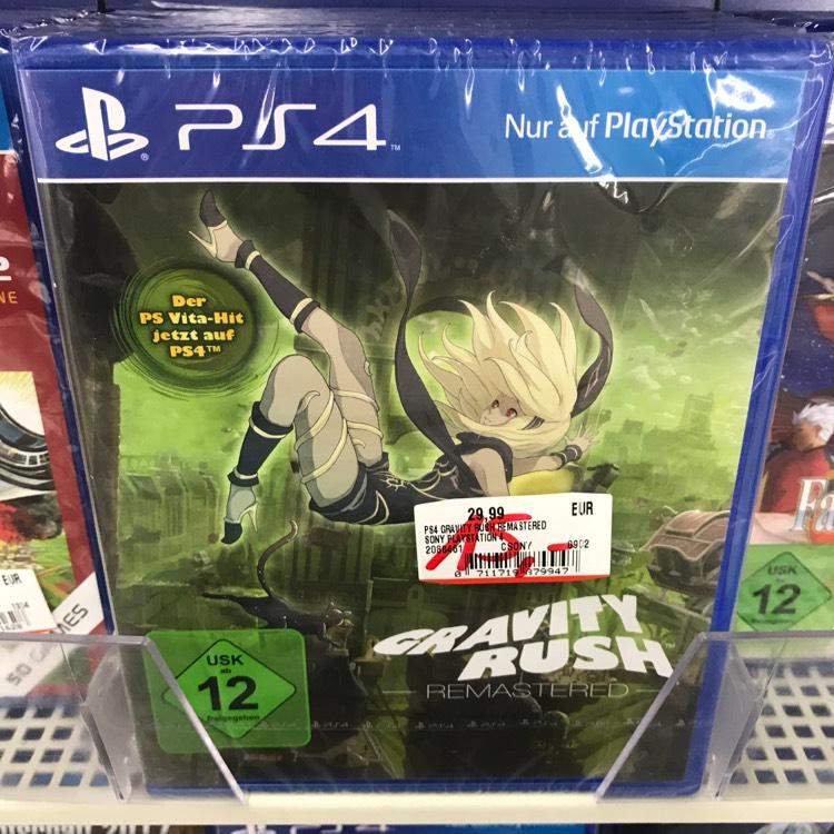 [Lokal Mediamarkt Jena] Gravity Rush Remastered (PS4) für 15€ statt 21,45€