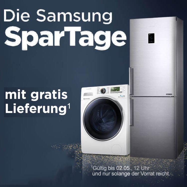 ao Weiße Ware Samsung SparTage - viele Waschmaschinen und Kühl-Gefrierkombinationen reduziert