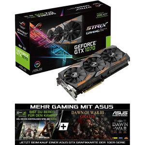 Gaming Grafikkarte von Asus ROG Strix GTX1070