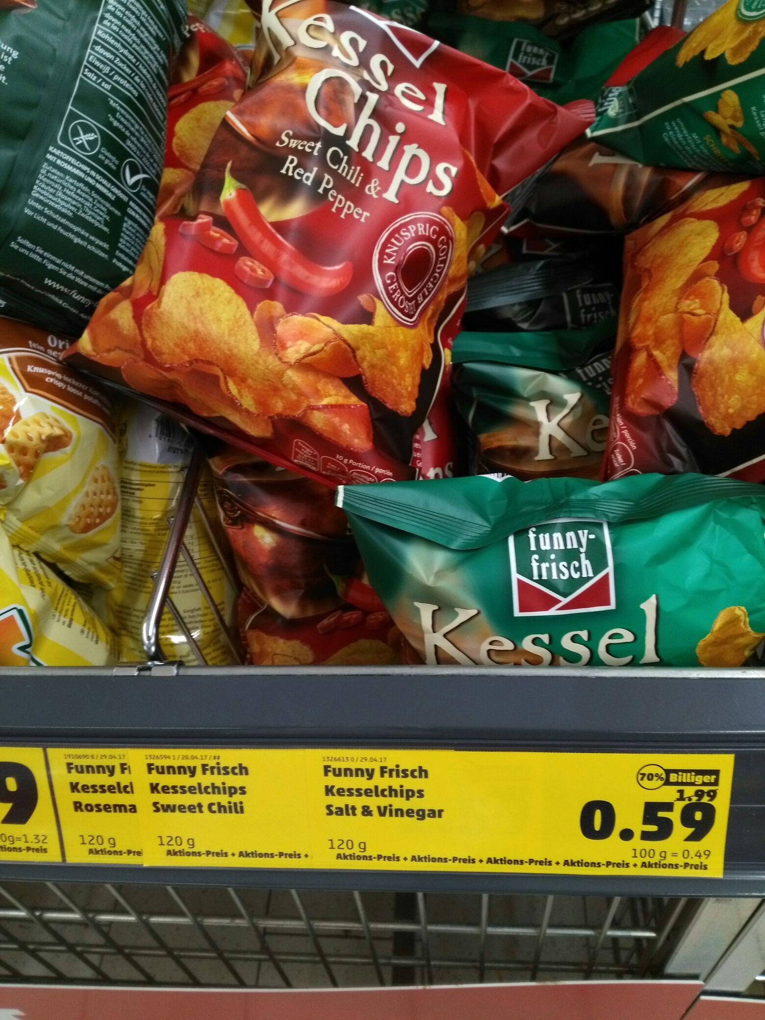 [Penny] Philippsburg - funny frisch - Kessel Chips