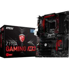 Mindfactory Angebot: MSI Z170A Gaming M3 Intel Z170 So.1151 Dual Channel DDR4 ATX Retail