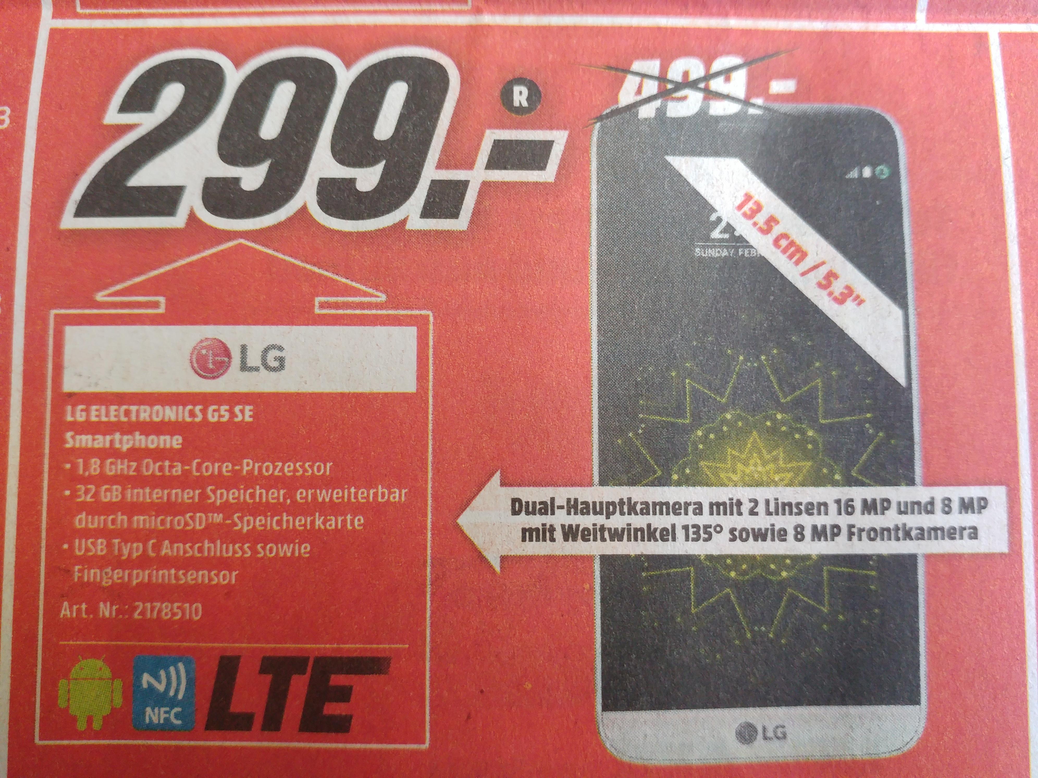 LG G5 Media Markt 299€
