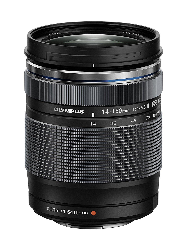Olympus M.ZUIKO Digital 14-150 mm 1:4.0-5.6 II ED (Micro Four Thirds) für 392,24€ [Amazon.it]