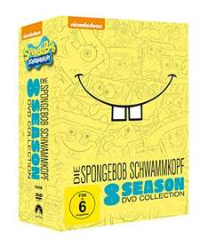 SpongeBob Schwammkopf - 8 Season DVD Collection für 36,97€ [Amazon]