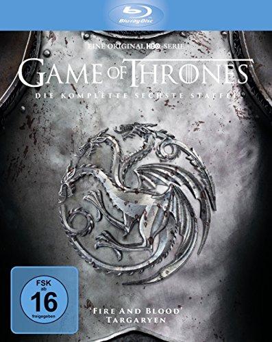 [Blu-Ray] Game of Thrones Staffel 6 - Digipack + Bonusdisc @Amazon Prime oder Buchtrick