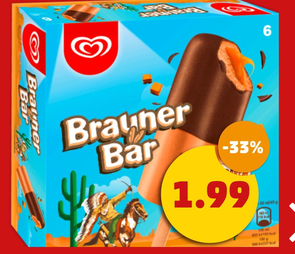 [Penny] Brauner Bär, Cornetto, Nogger, Flutsch Finger, Cuja Mara Split (6er Packs), auch Smarties Pop Up, Pirulo je 1,99€