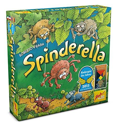 Amazon: Spinderella (Brettspiel, Gesellschaftsspiel, Kinderspiel des Jahres 2015) für 5€