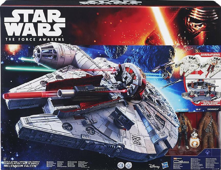Hasbro Star Wars Millennium Falke Karstadt
