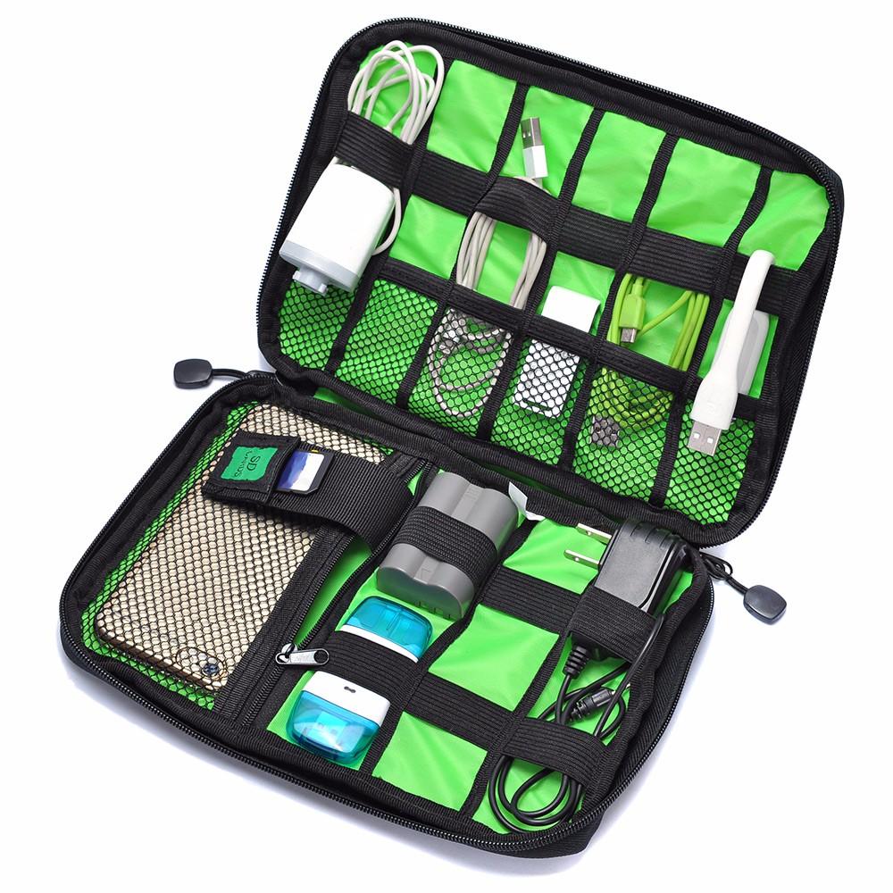 [GearBest] Kabel Organizer, Reisetasche für Elektronik Accessoires und Kabel